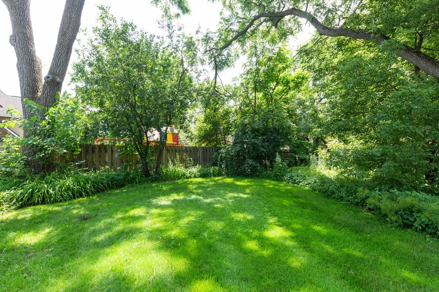 Real Estate Photography - 207 W Station St, Barrington, IL, 60010 - Back Yard
