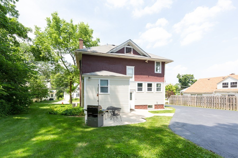 Real Estate Photography - 207 W Station St, Barrington, IL, 60010 - Rear View