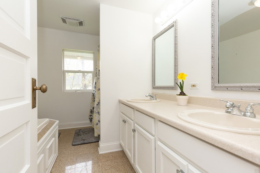 Real Estate Photography - 207 W Station St, Barrington, IL, 60010 - Bathroom