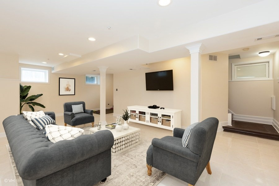 Real Estate Photography - 207 W Station St, Barrington, IL, 60010 - Lower Level