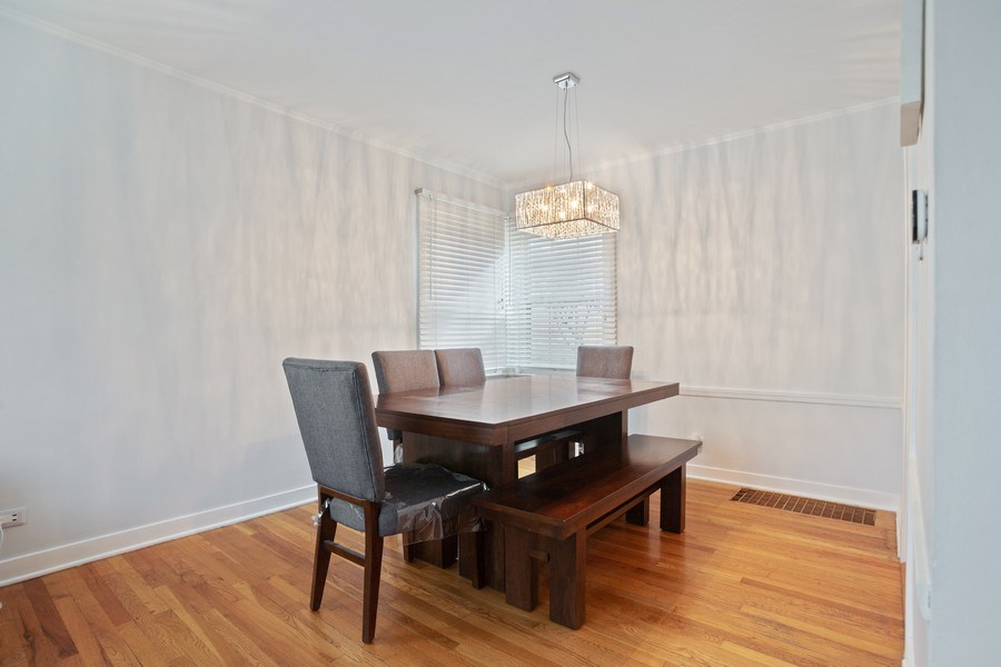 Real Estate Photography - 1327 Lundergan, Park Ridge, IL, 60068 - Dining Room