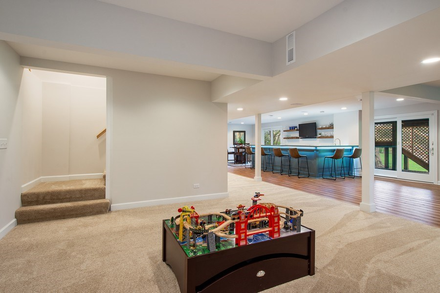 Real Estate Photography - 415 N Valley Rd, Barrington, IL, 60010 - Basement