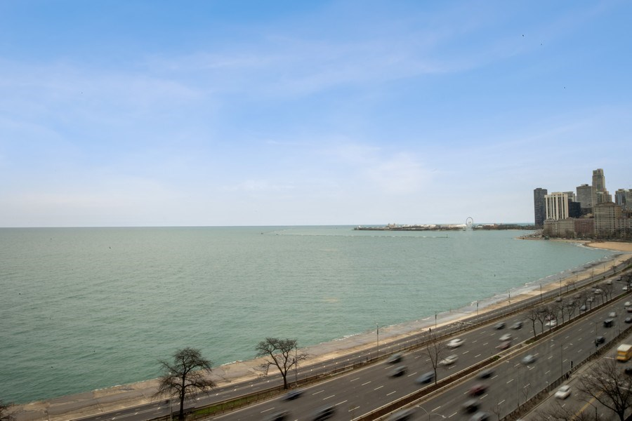 Real Estate Photography - 1440 Lake Shore Drive, 14A, Chicago, IL, 60610 - View