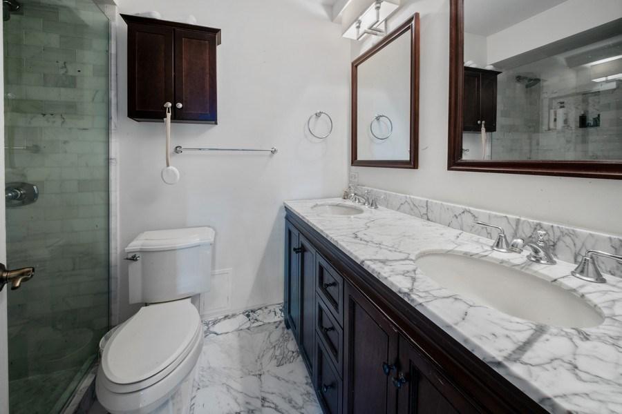 Real Estate Photography - 1440 Lake Shore Drive, 14A, Chicago, IL, 60610 - Master Bathroom