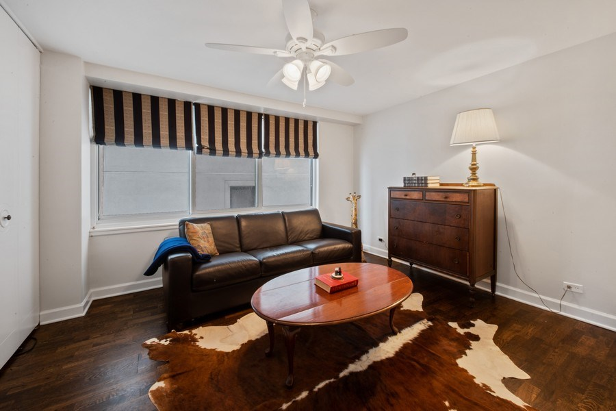 Real Estate Photography - 1440 Lake Shore Drive, 14A, Chicago, IL, 60610 - 3rd Bedroom / Den