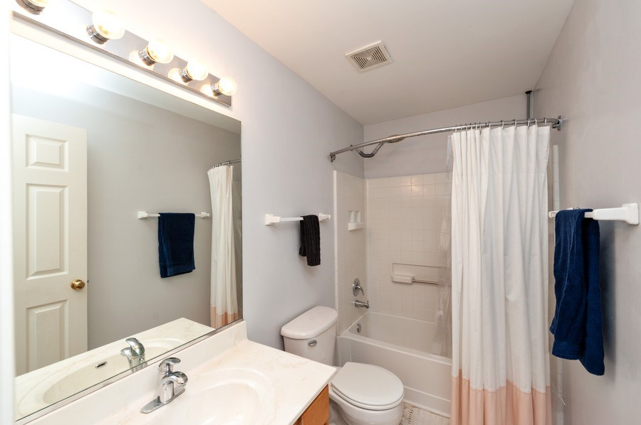Real Estate Photography - 501 W Cambria Dr, Round Lake, IL, 60073 - 3rd Bathroom