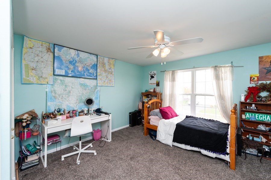 Real Estate Photography - 501 W Cambria Dr, Round Lake, IL, 60073 - 2nd Bedroom