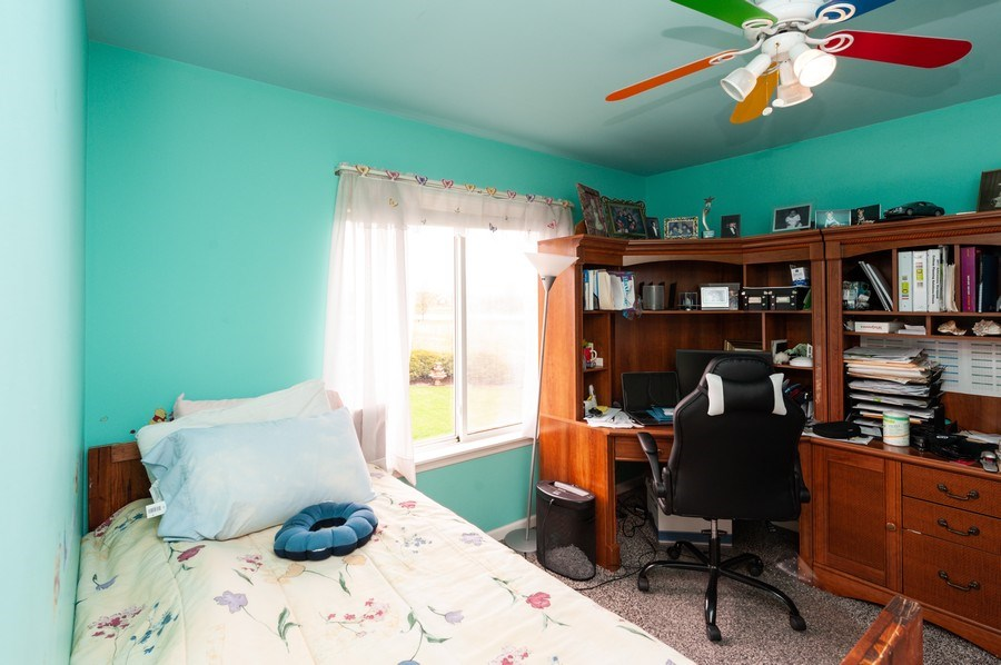 Real Estate Photography - 501 W Cambria Dr, Round Lake, IL, 60073 - 4th Bedroom