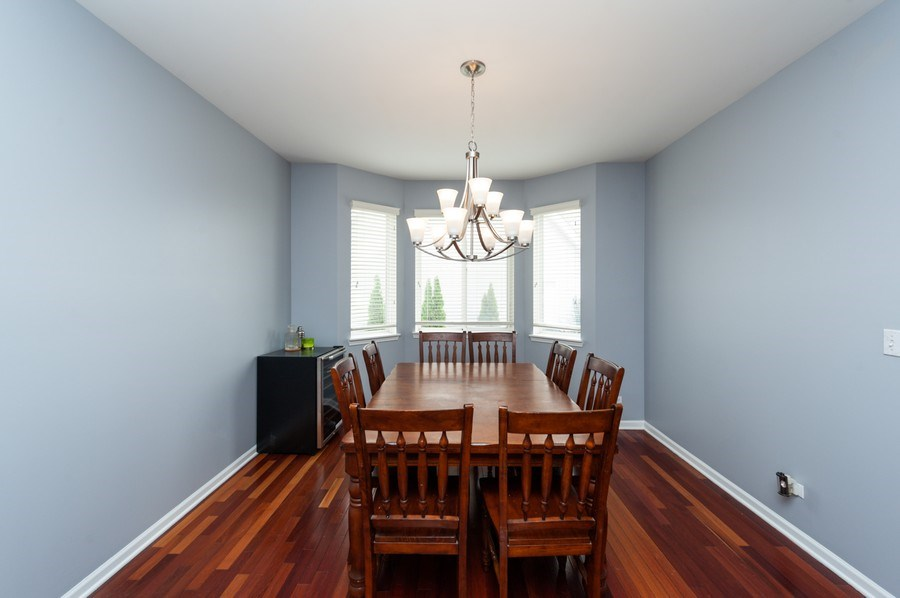 Real Estate Photography - 501 W Cambria Dr, Round Lake, IL, 60073 - Dining Room