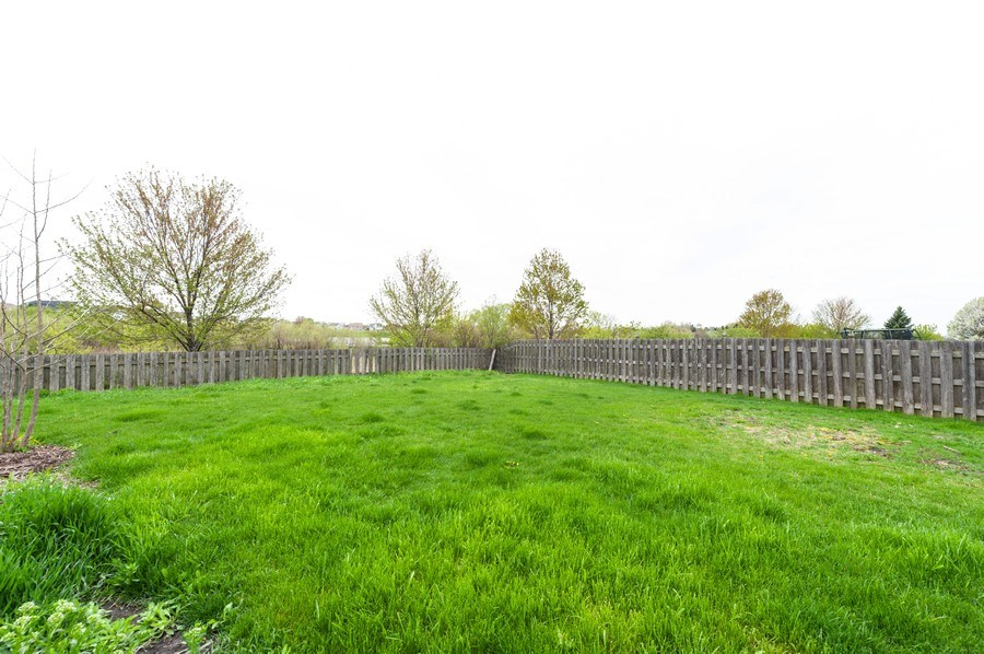 Real Estate Photography - 501 W Cambria Dr, Round Lake, IL, 60073 - Back Yard