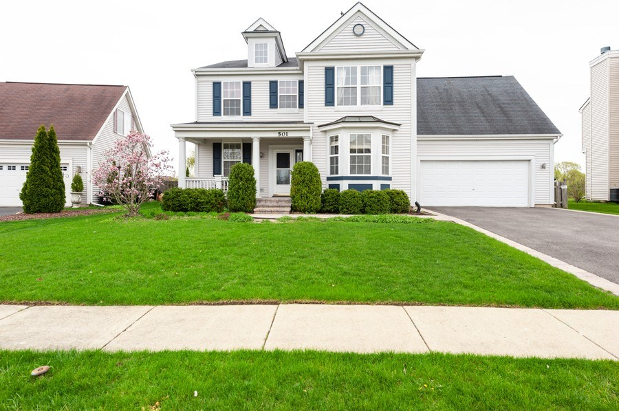 Real Estate Photography - 501 W Cambria Dr, Round Lake, IL, 60073 - Front View