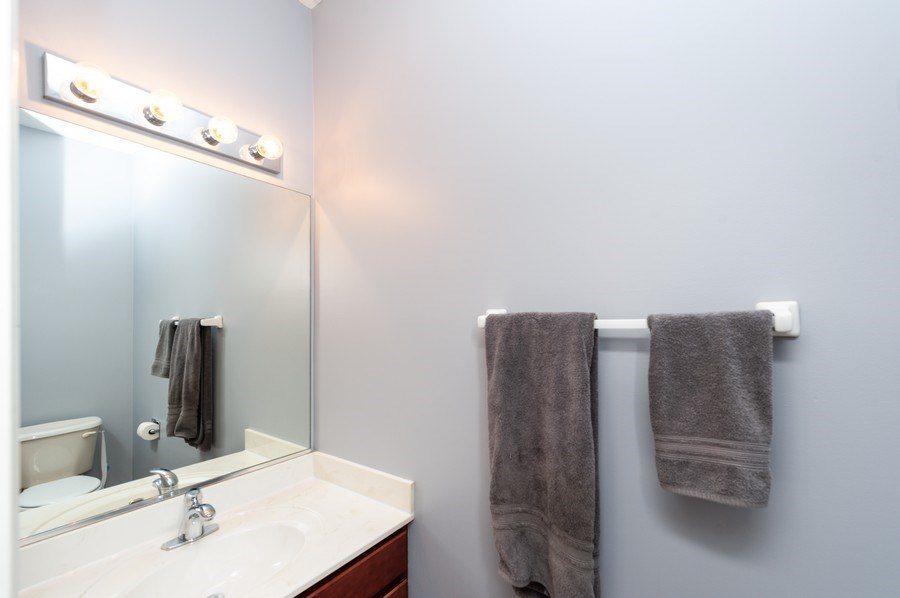 Real Estate Photography - 501 W Cambria Dr, Round Lake, IL, 60073 - 2nd Bathroom