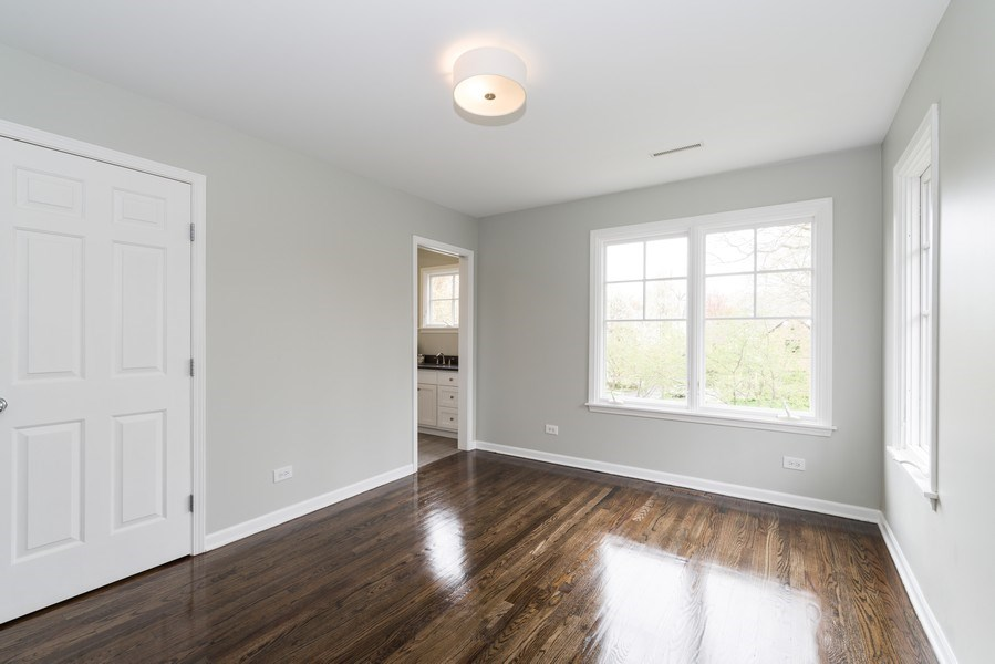 Real Estate Photography - 1437 Asbury Ave, Winnetka, IL, 60093 - 2nd Bedroom