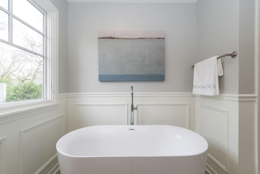 Real Estate Photography - 1437 Asbury Ave, Winnetka, IL, 60093 - Master Bathroom