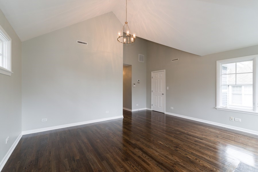 Real Estate Photography - 1437 Asbury Ave, Winnetka, IL, 60093 - Master Bedroom