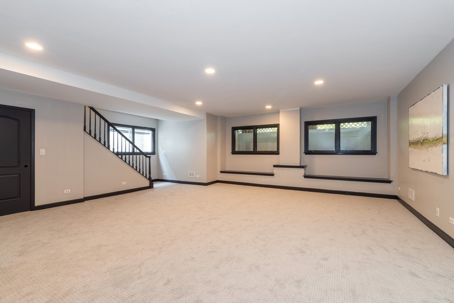 Real Estate Photography - 1437 Asbury Ave, Winnetka, IL, 60093 - Basement