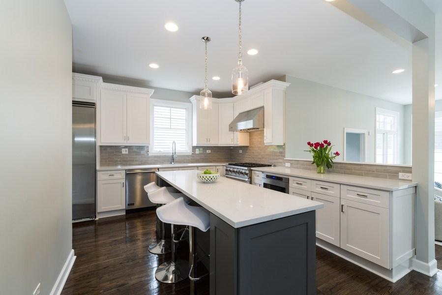 Real Estate Photography - 1437 Asbury Ave, Winnetka, IL, 60093 - Kitchen