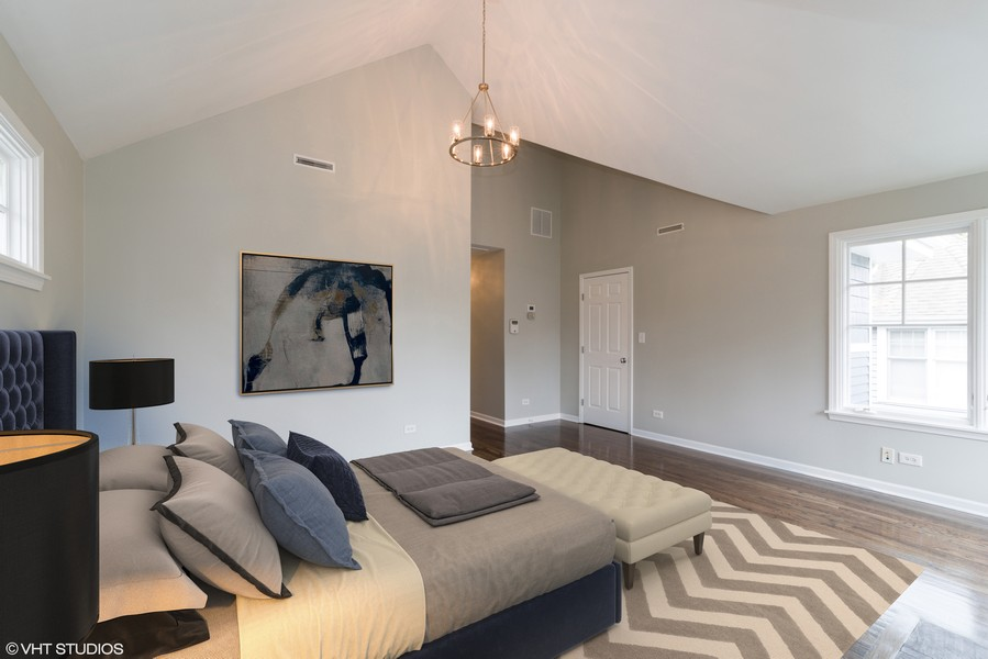Real Estate Photography - 1437 Asbury Ave, Winnetka, IL, 60093 -