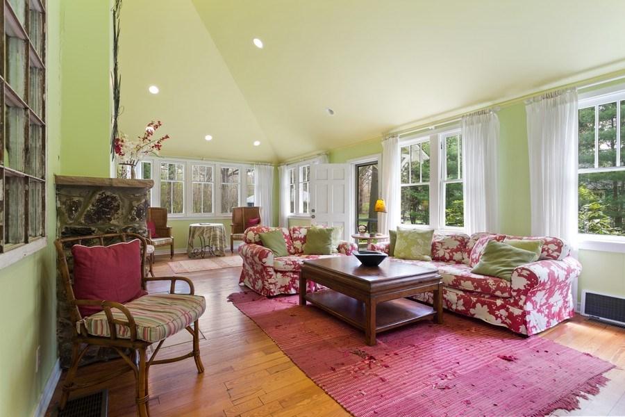 Real Estate Photography - 15792 Oak Ave, Union Pier, MI, 49129 - Living Room