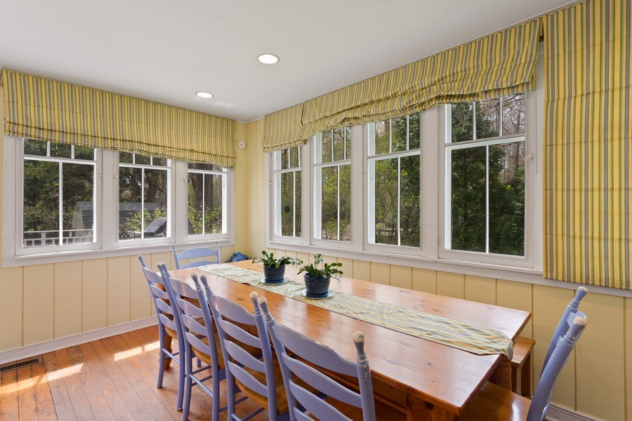 Real Estate Photography - 15792 Oak Ave, Union Pier, MI, 49129 - Dining Room