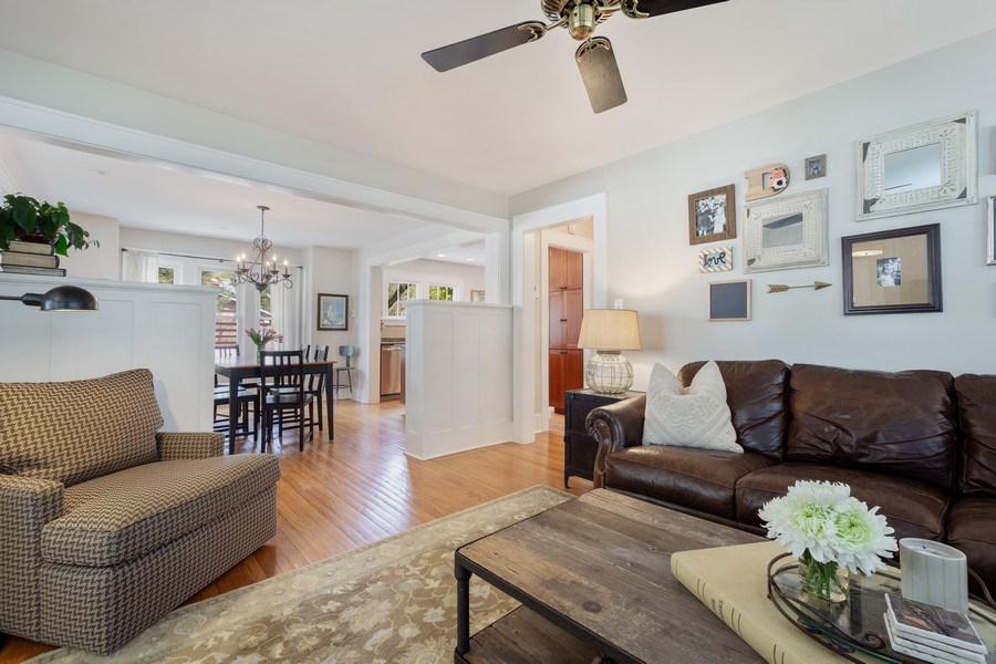 Real Estate Photography - 119 W Russell St, Barrington, IL, 60010 - Living Room