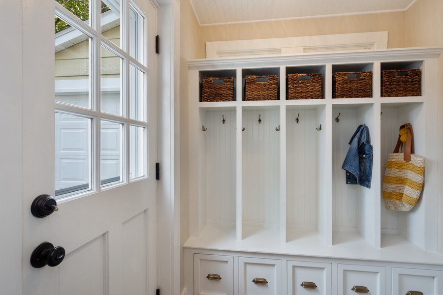 Real Estate Photography - 119 W Russell St, Barrington, IL, 60010 - Mudroom