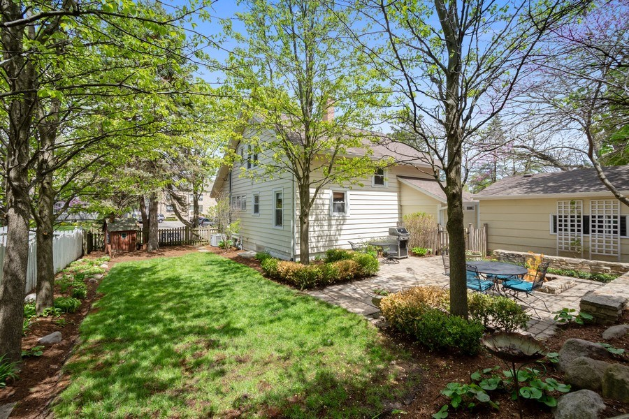 Real Estate Photography - 119 W Russell St, Barrington, IL, 60010 - Rear View