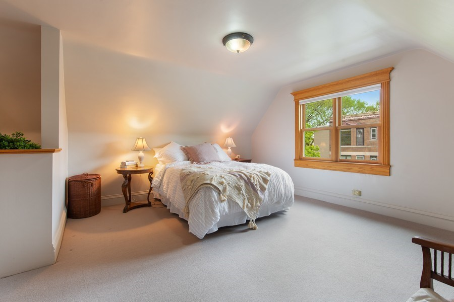 Real Estate Photography - 4101 N Greenview, Chicago, IL, 60613 - Master Bedroom