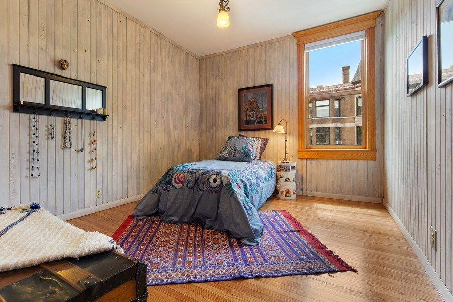 Real Estate Photography - 4101 N Greenview, Chicago, IL, 60613 - 3rd Bedroom