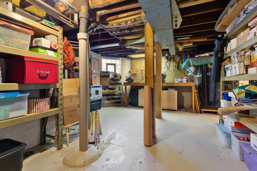 Real Estate Photography - 4101 N Greenview, Chicago, IL, 60613 - Basement