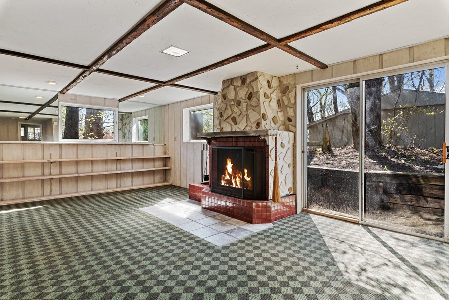 Real Estate Photography - 19335 Highland Dr, New Buffalo, MI, 49117 - Family Room