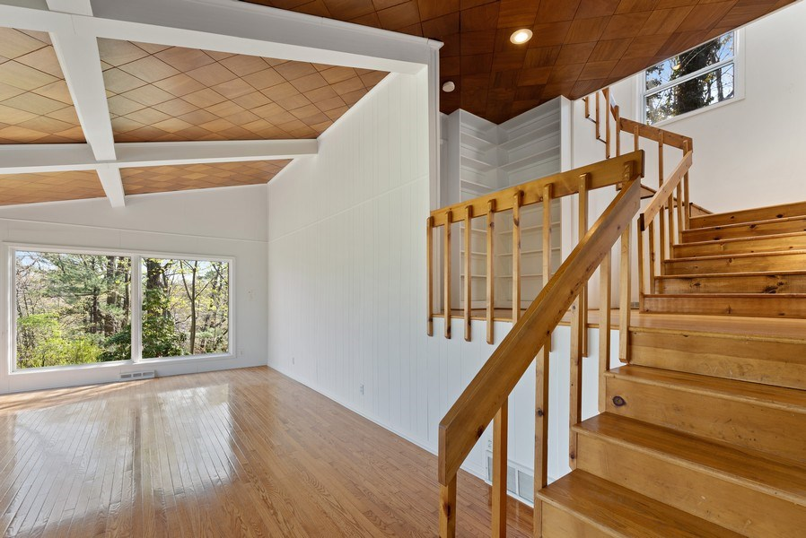 Real Estate Photography - 19335 Highland Dr, New Buffalo, MI, 49117 - Staircase