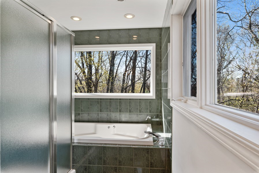 Real Estate Photography - 19335 Highland Dr, New Buffalo, MI, 49117 - Master Bathroom