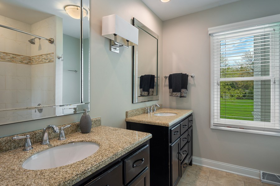 Real Estate Photography - 215 Cold Spring Rd, Barrington, IL, 60010 - 5th Bathroom