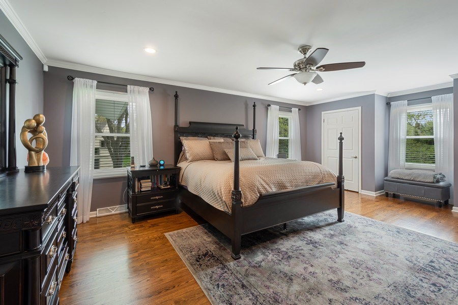 Real Estate Photography - 215 Cold Spring Rd, Barrington, IL, 60010 - Master Bedroom