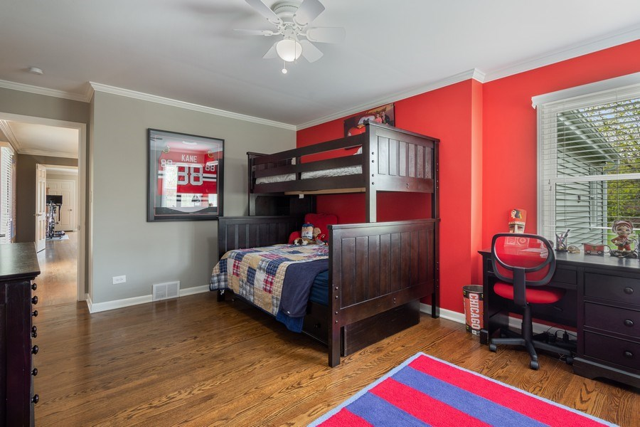 Real Estate Photography - 215 Cold Spring Rd, Barrington, IL, 60010 - 3rd Bedroom