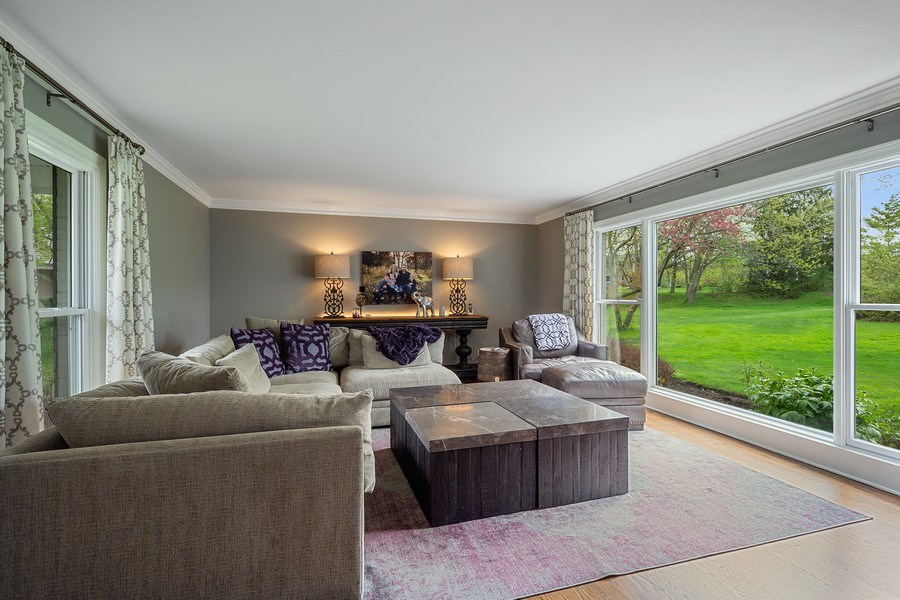Real Estate Photography - 215 Cold Spring Rd, Barrington, IL, 60010 - Living Room