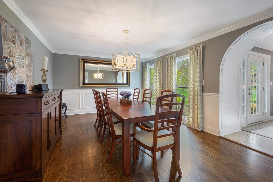 Real Estate Photography - 215 Cold Spring Rd, Barrington, IL, 60010 - Dining Room