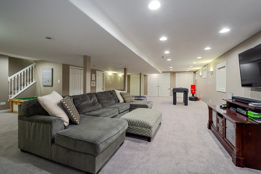 Real Estate Photography - 215 Cold Spring Rd, Barrington, IL, 60010 - Basement
