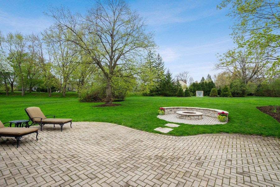 Real Estate Photography - 215 Cold Spring Rd, Barrington, IL, 60010 - Back Yard