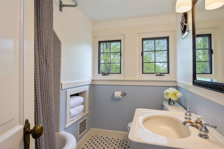 Real Estate Photography - 616 S. Grove Ave, Barrington, IL, 60010 - Bedroom 5 Ensuite Bathroom