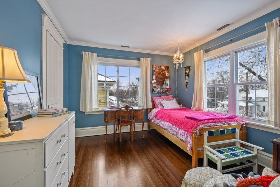 Real Estate Photography - 616 S. Grove Ave, Barrington, IL, 60010 - 3rd Bedroom
