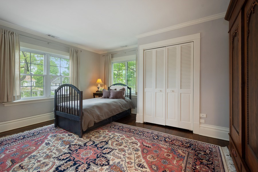 Real Estate Photography - 616 S. Grove Ave, Barrington, IL, 60010 - 2nd Bedroom Ensuite
