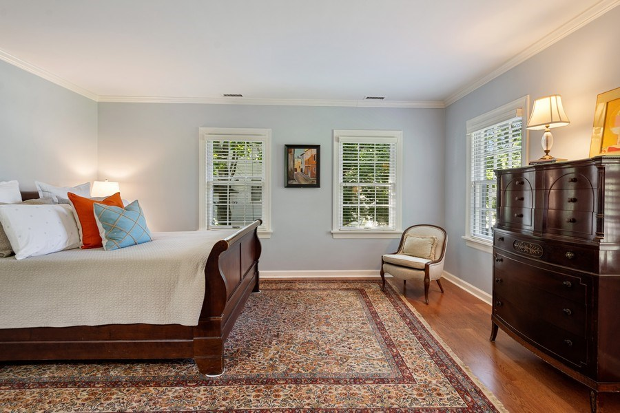 Real Estate Photography - 616 S. Grove Ave, Barrington, IL, 60010 - Master Bedroom