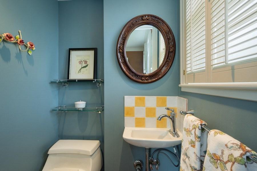 Real Estate Photography - 616 S. Grove Ave, Barrington, IL, 60010 - Powder Room