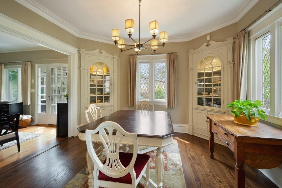 Real Estate Photography - 616 S. Grove Ave, Barrington, IL, 60010 - Breakfast Room