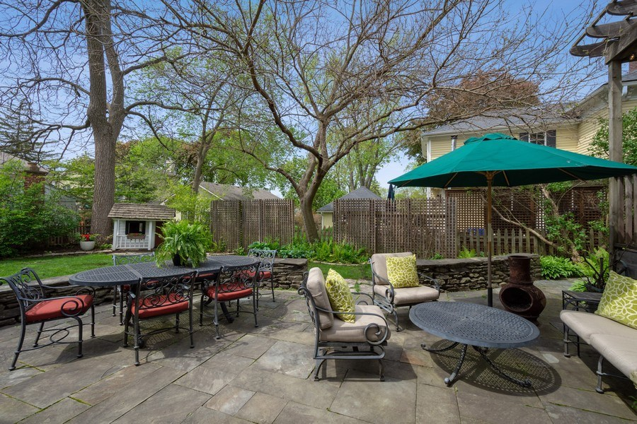 Real Estate Photography - 616 S. Grove Ave, Barrington, IL, 60010 - Patio