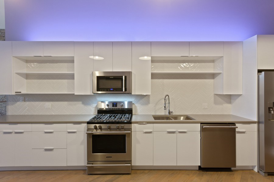 Real Estate Photography - 850 N Milwaukee Ave, Chicago, IL, 60642 - Kitchen