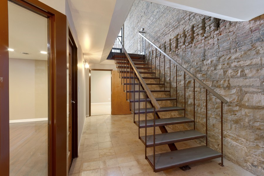 Real Estate Photography - 850 N Milwaukee Ave, Chicago, IL, 60642 - Staircase