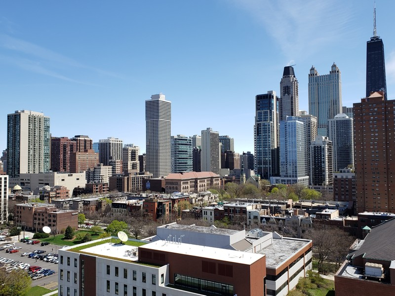 Real Estate Photography - 849 N Franklin St, unit 1412, Chicago, IL, 60610 -